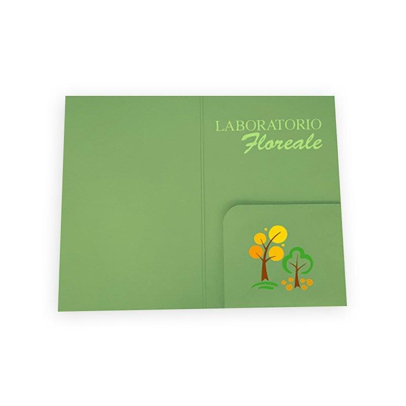 Stampa Online Cartellina Tasca Fustellata Dorso Personalizzata Stampaleader